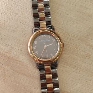 Marc Jacobs Mini Marci Two-Tone Bracelet Watch